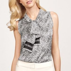 The Limited Scandal Collection XS Neck Tie Blouse